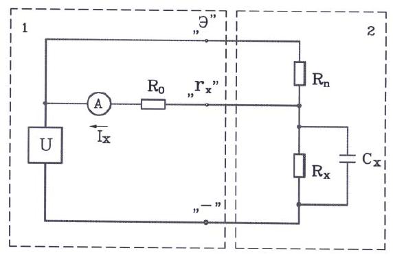Схема подключения и измерения мегаомметром