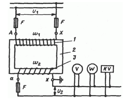 Схема подключения трансформатора напряжения.png
